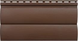 Акриловый сайдинг «Блок-хаус» Орех тёмный BH-03  размер 3,1м