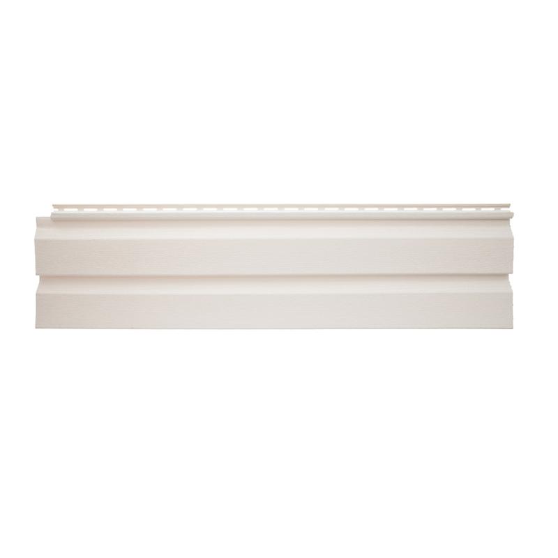 Панель виниловая Альта-Сайдинг размер 3660 мм Белый