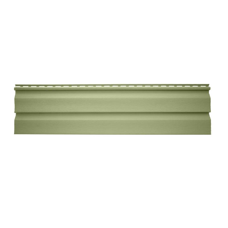Панель виниловая Альта-Сайдинг размер 3660 мм Салатовый