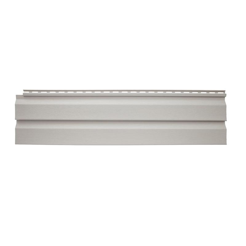 Панель виниловая Альта-Сайдинг размер 3660 мм Светло серый