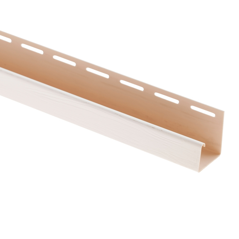 """Сайдинг Планка """"J - trim"""" размер 3660 мм Белый"""