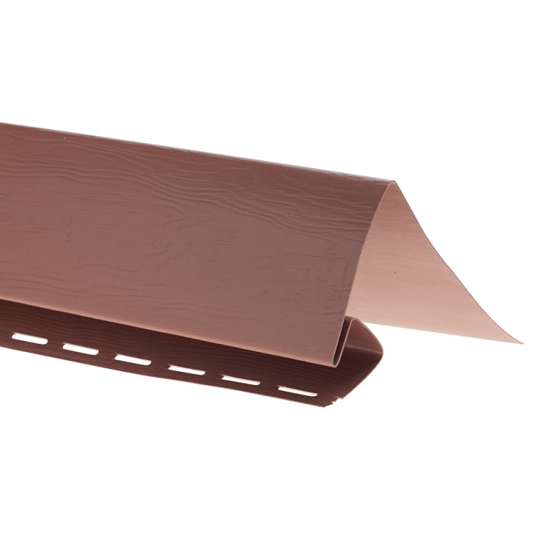 """Планка """"околооконная"""" T 17 """"ВН"""" размер 3000 мм Красно-коричневый"""