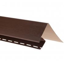 """Планка """"околооконная"""" T 17 """"ВН"""" размер 3000 мм Темный орех"""