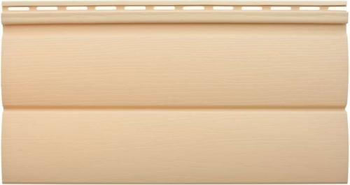 Виниловый сайдинг «Блок-хаус» золотистый BH-03 размер 3,1м
