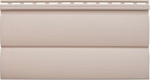 Виниловый сайдинг «Блок-хаус» персиковый BH-03 размер 3,1м