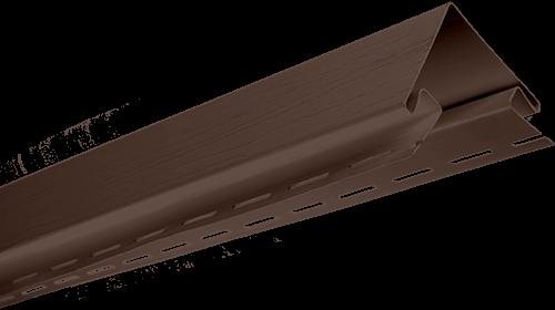 """Планка """"наружный угол """" размер 3000 мм, Коричневый"""