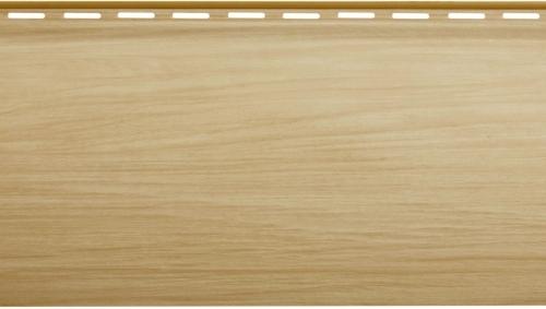 Виниловый сайдинг Блок хаус Люкс (Бук) BH-01 - 3100 х 200 мм