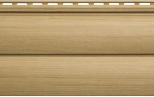 Виниловый сайдинг Блок хаус Люкс (Бук) BH-03 размер 3000 х 226 мм