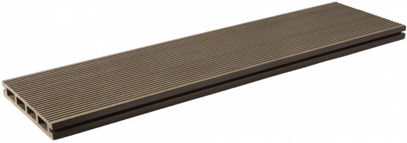 Террасная доска Lite 3000х140х20 мм (Шоколад)