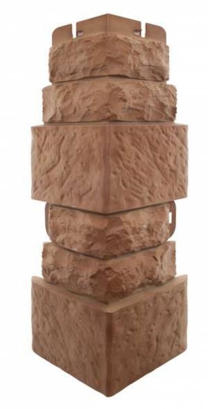 Наружный угол Фасадная плитка (Доломит)