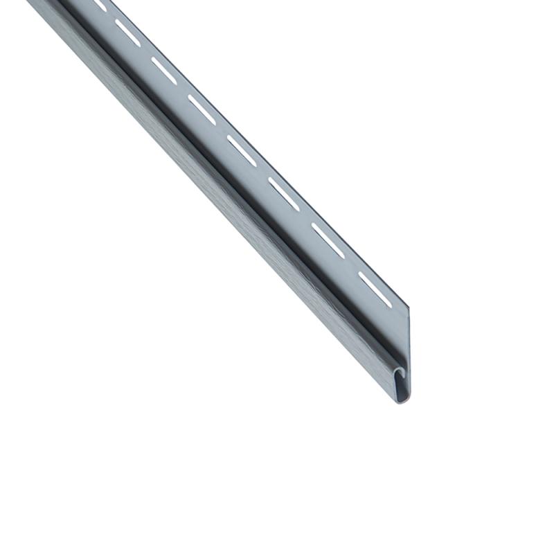 """Сайдинг Планка """"финишная"""", 3660 мм Светло-серый"""