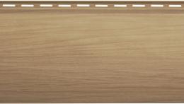 Виниловый сайдинг Блок хаус Люкс (Каштан) BH-01 - 3100 х 200 мм