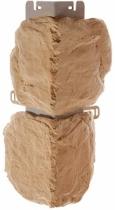 Наружный угол бутовый камень (Греческий) 440 х 180 мм