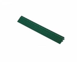 Боковой элемент обрамления с пазами под замки Зеленый