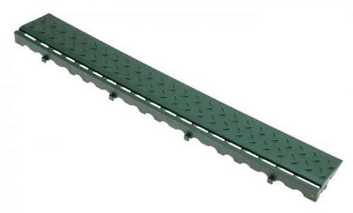 Боковой элемент обрамления с замками Зеленый