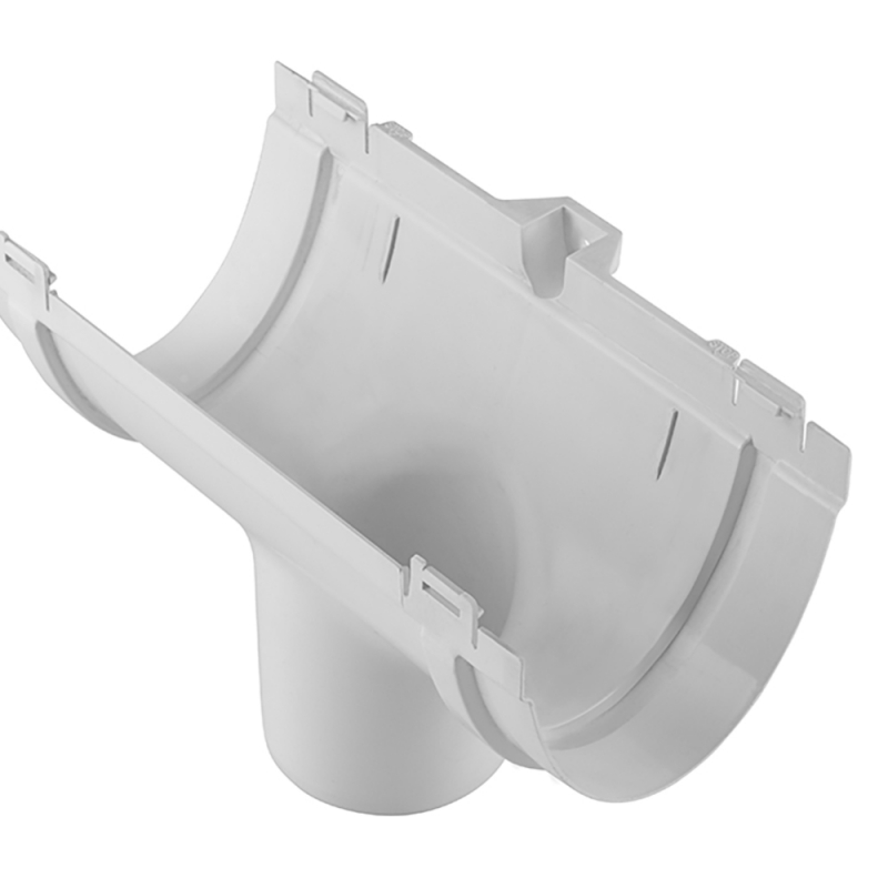 Воронка 74 мм для водосточной системы Стандарт Белый