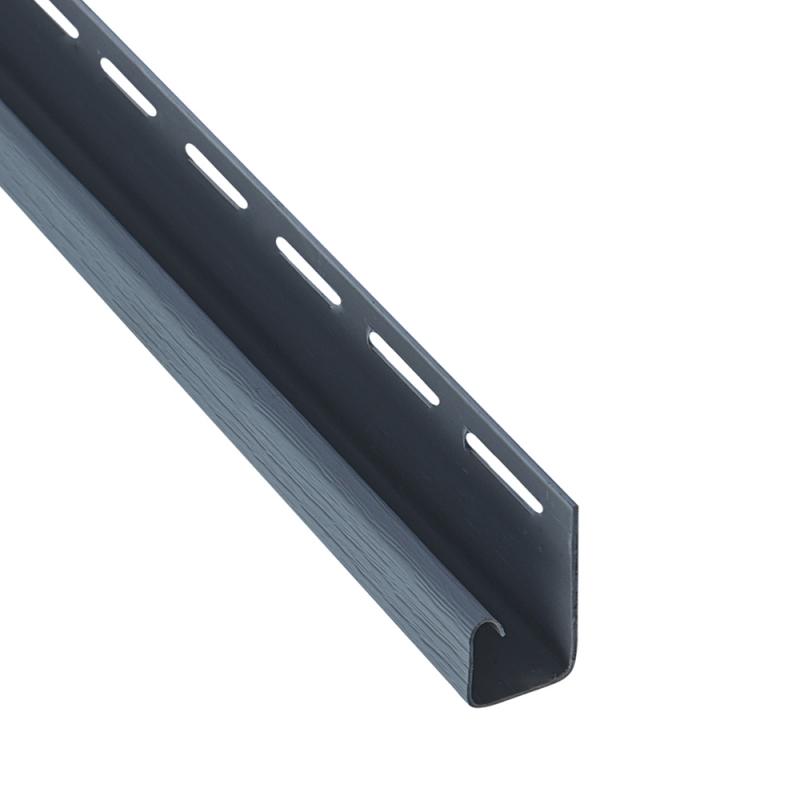 """Планка """"J - trim"""" размер 3000 мм Серо-голубой"""