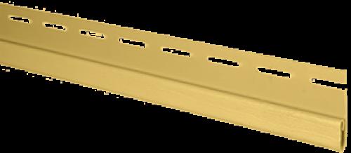 """Планка """"финишная"""" Т-14 размер 3000 мм Желтый"""