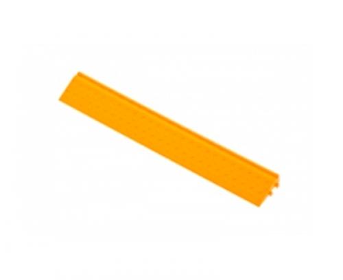 Боковой элемент обрамления с пазами под замки Желтый