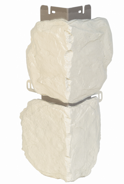 Наружный угол бутовый камень (Норвежский) 440 х 180 мм