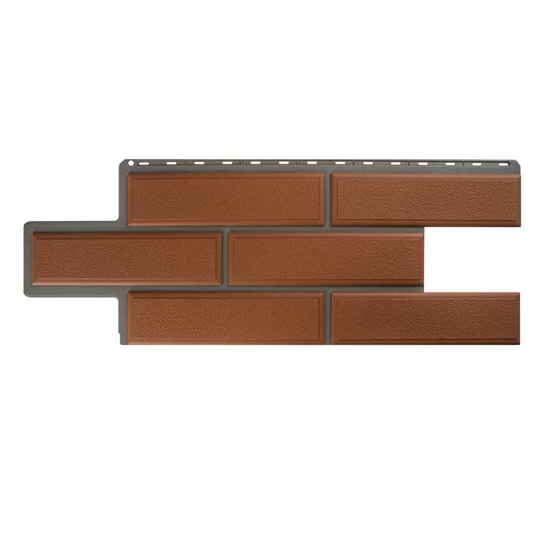 Фасадная панель Камень Венецианский (Терракотовый)