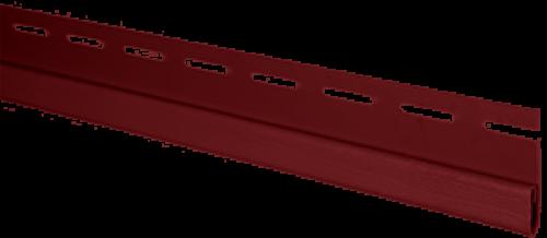 """Планка """"финишная"""" Т-14 размер 3000 мм Красный"""