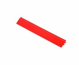 Боковой элемент обрамления с пазами под замки Красный