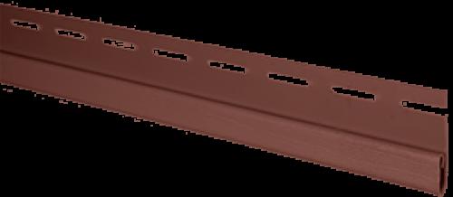 """Планка """"финишная"""" Т-14 размер 3000 мм Красно-коричневый"""