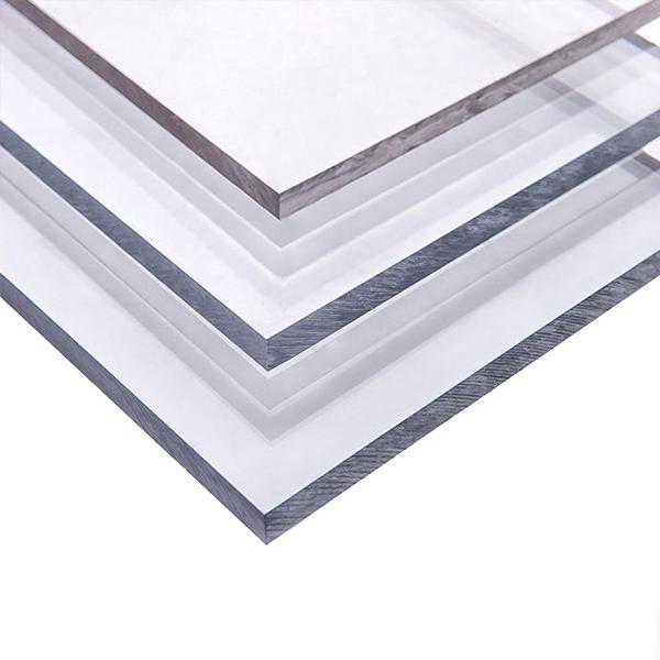 Монолитный поликарбонат Borrex 6 мм прозрачный 2050x6100