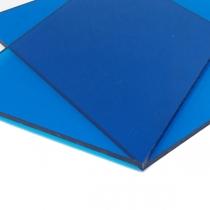 Монолитный поликарбонат Borrex 10 мм синий 2050x3050