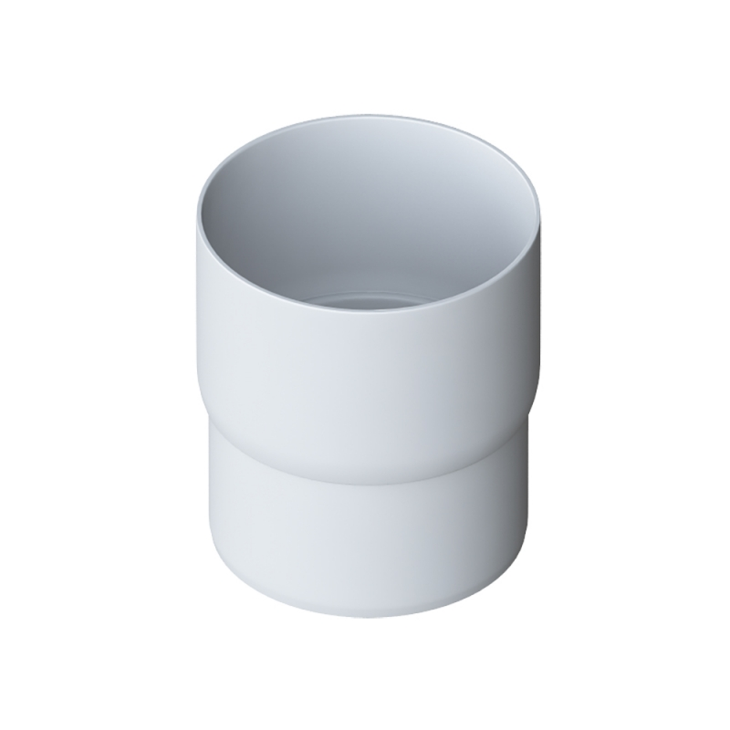 Муфта трубы для водосточной системы Элит (Белый)