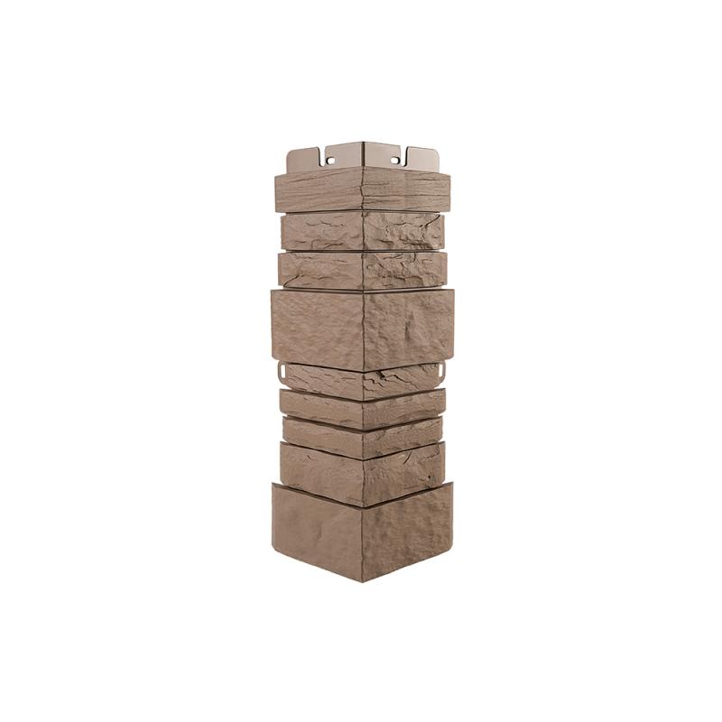 Наружный угол камень Шотландия (Терракотовый)