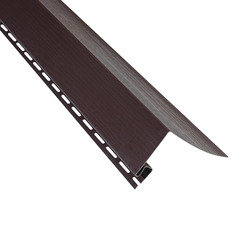 """Планка """"околооконная"""" Коричневая размер 3000 мм"""
