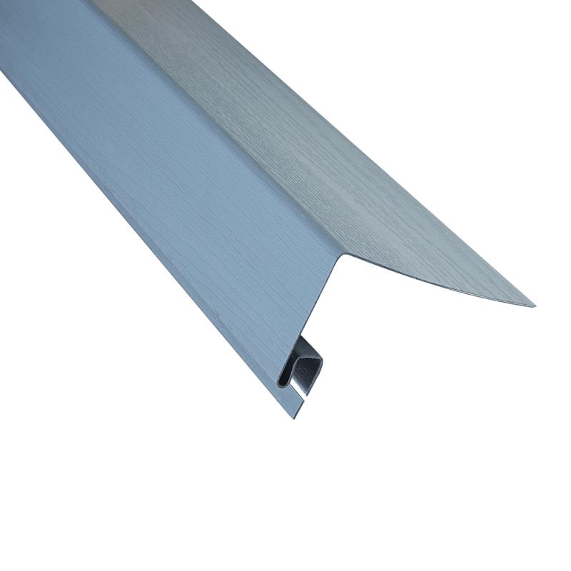 """Планка """"околооконная"""" Серо-голубая размер 3000 мм"""