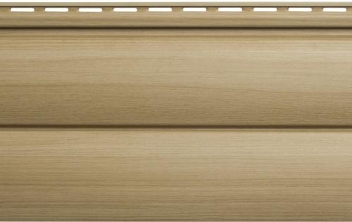 Виниловый сайдинг Блок хаус Люкс (Ольха) BH-03 размер 3000 х 226 мм