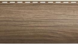 Виниловый сайдинг Блок хаус Люкс (Орех) BH-01 - 3100 х 200 мм