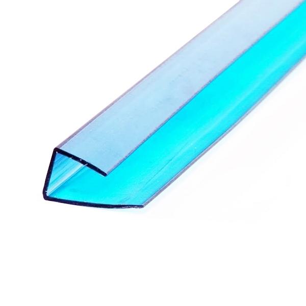 Торцевой профиль Berolux 10x2100 мм бирюзовый