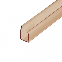 Торцевой профиль Berolux 8x2100 мм бронзовый