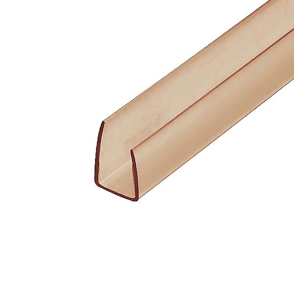 Торцевой профиль Berolux 4x2100 мм бронзовый