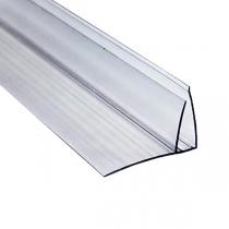 Пристенный профиль 8-10x6000 мм прозрачный