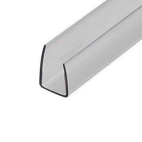 Торцевой профиль Berolux 4x2100 мм серый