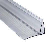 Пристенный профиль Berolux 4-6x6000 мм серый