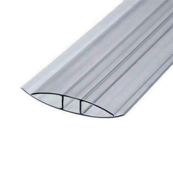Соединительный неразъемный профиль Berolux 16x6000мм серый