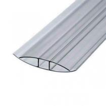 Соединительный неразъемный профиль Berolux 10x6000мм серый
