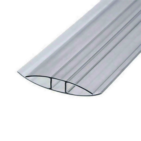 Соединительный неразъемный профиль Berolux 4x6000мм серый