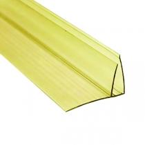 Пристенный профиль Berolux 16-20x6000 мм желтый