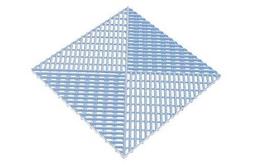 Решётка с дополнительным обрамлением Голубой