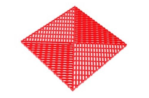 Решётка с дополнительным обрамлением Красный