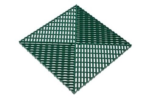 Решётка с дополнительным обрамлением Зеленый