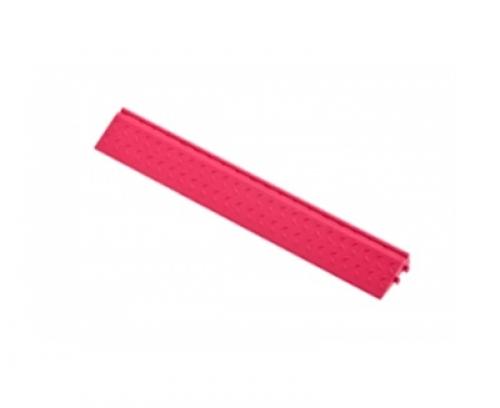 Боковой элемент обрамления с пазами под замки Розовый